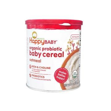 美国 Happybaby 禧贝 2段有机燕麦米粉DHA 198g