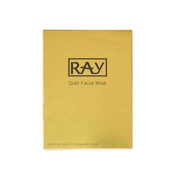 【批发】【微信下单】【德邦到付】泰国 RAY 蚕丝面膜 金色 单盒