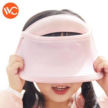 【直邮】韩国 VVC 儿童防晒帽 小童 粉色(适合3-7岁)