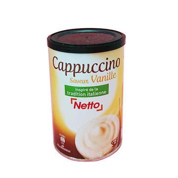 法国 Netto 蜜多 卡布奇诺 香草味 200g