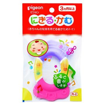 日本 Pigeon 贝亲 婴儿牙胶R2 3m+